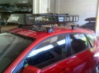 Mazda 3 5dr Rack Installation Photos
