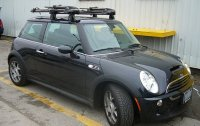 Mini Cooper 3dr Rack Installation Photos