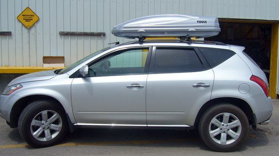Nissan Murano Rack Installation Photos