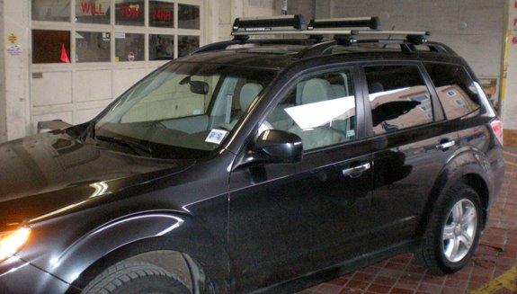 Subaru Forester Rack Installation Photos