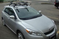 Bike rack for toyota matrix 2005
