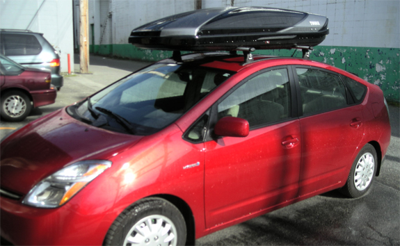 Toyota Prius Roof Top Carrier