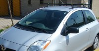 Yakima roof rack toyota yaris