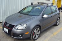 Volkswagen GTI 5dr Rack Installation Photos