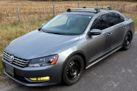 Volkswagen Passat 4dr Rack Installation Photos