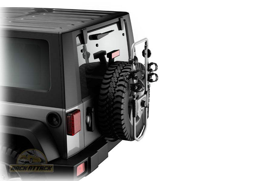 Jeep Spare Tire Bike Rack