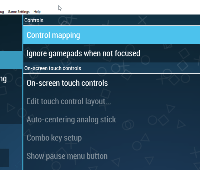 Scrolling Down These Options You Should See Something That Looks A Lot Like This If You Have A Properly Configured Xinput Controller