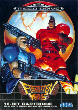 Review Forgotten Worlds  Sega Genesis  Megadrive  RetroGaming with Racketboy