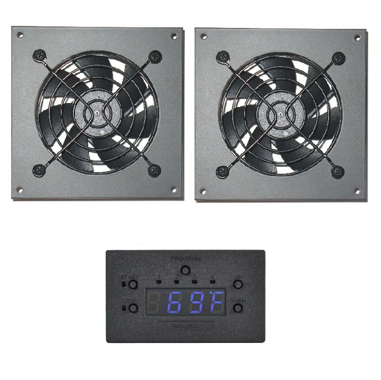 Procool Rack mount and Cabinet cooling fans