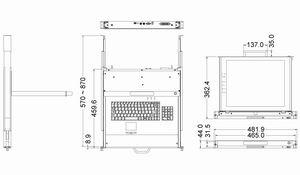 LCD1U17-34 1U Modularized Dual rail 17