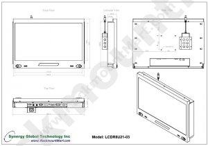 LCDR8U21-03 8U 21.5