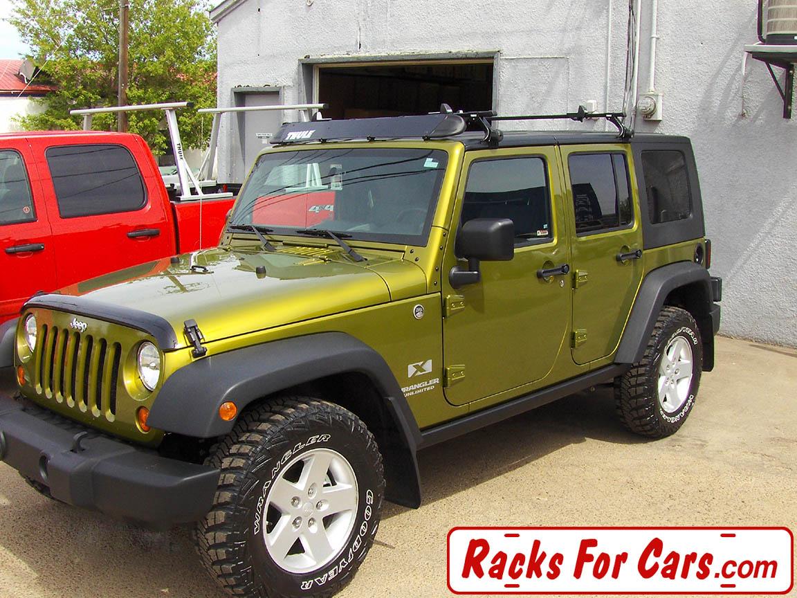 Jeep Wrangler Hard Top Roof Rack