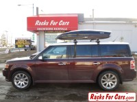 Ford Flex Roof Racks and Ski Box - Thule 480R Traverse ...