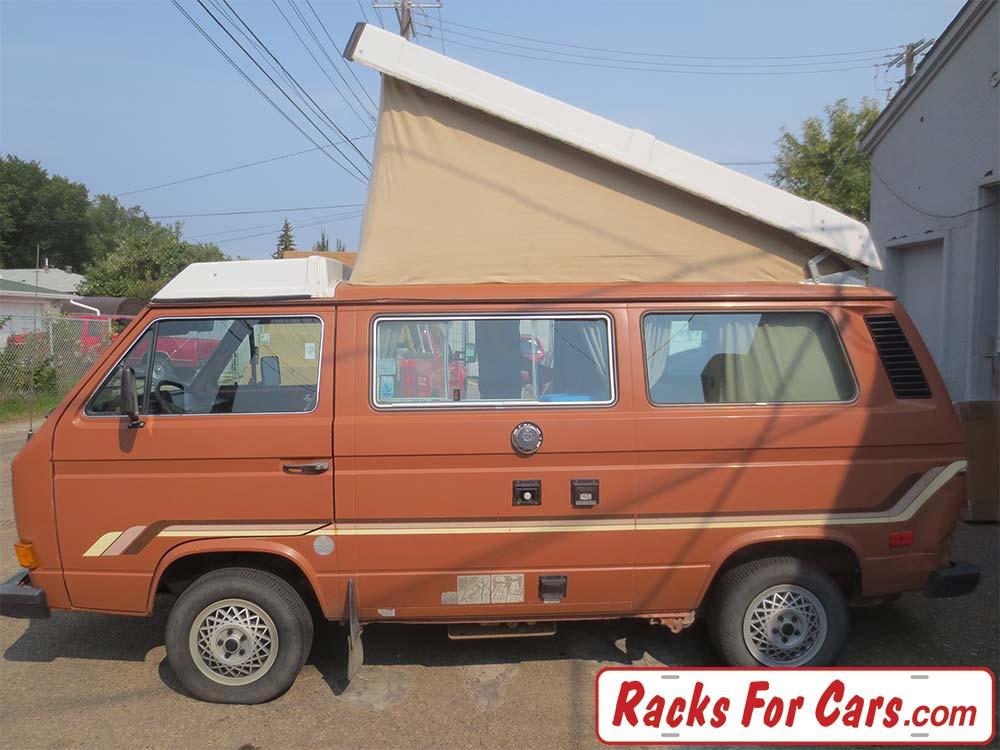 VW Vanagon Westfalia with Thule 300 roof rack