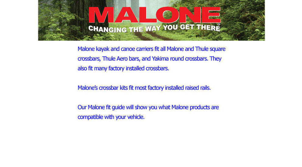 malone fit guide