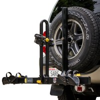 Spare Tire Mounted Bicycle Bike Racks