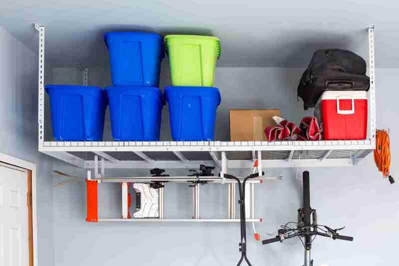 Free install garage storage rack