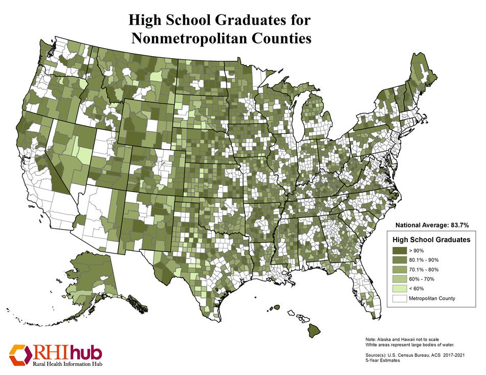 Education map, RAC