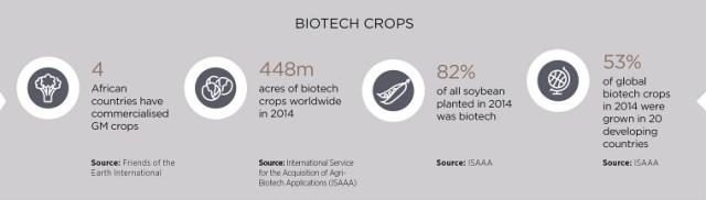 Biotech crops factfile