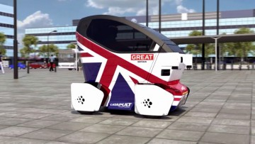 Driverless car Milton Keynes