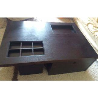 τραπέζι σαλονιού από ξύλο καρυδιάς