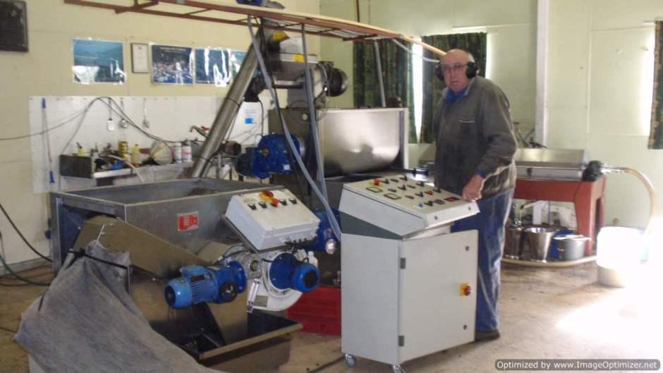 Μεταχειρισμένα μηχανήματα επεξεργασίας ελιάς