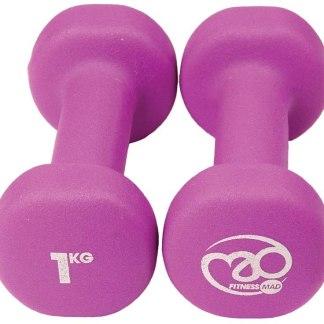 Αλτήρες γυμναστικής 1 kg για άνδρες και γυναίκες