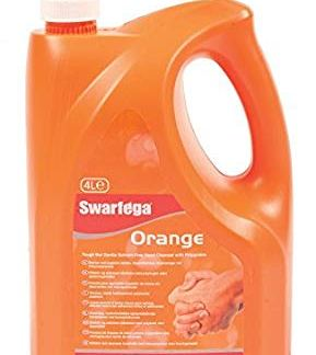 Απολυμαντικό χεριών πορτοκάλι με αντλία 4 λίτρων