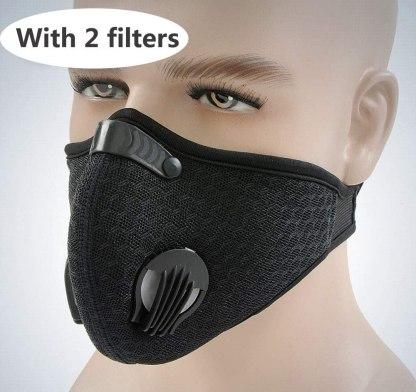 Μάσκα ενεργού άνθρακα για ιούς