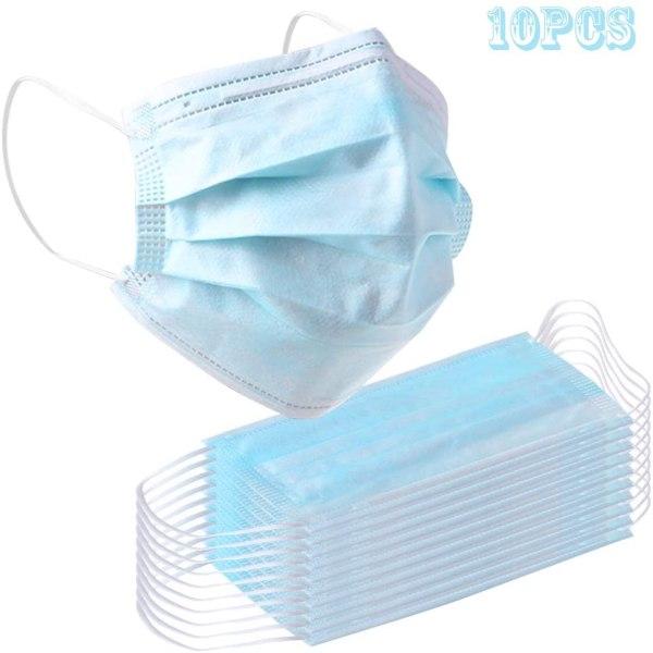 Μάσκα προσώπου 10 τεμαχίων για ιούς
