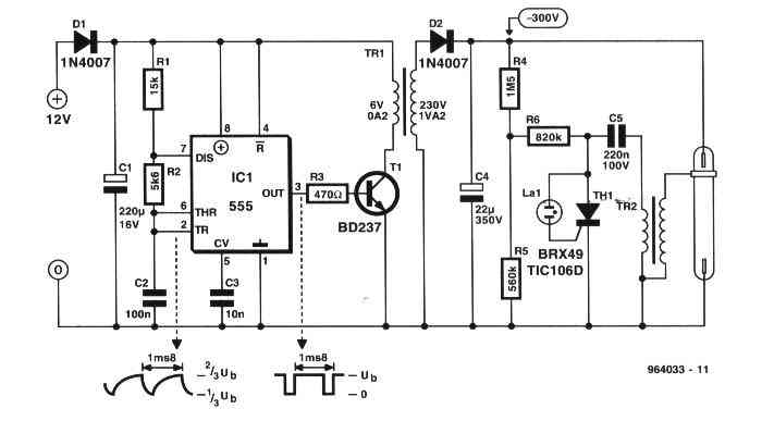 dimmer control voltage polarity changer