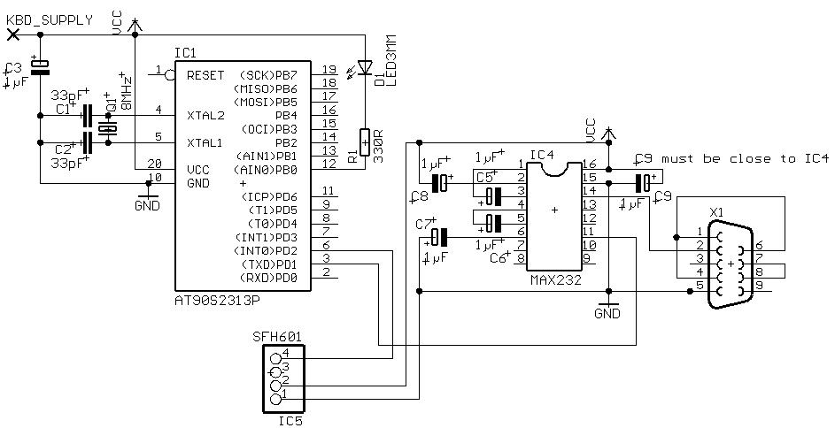 AVR-Based Serial Port IR Receiver