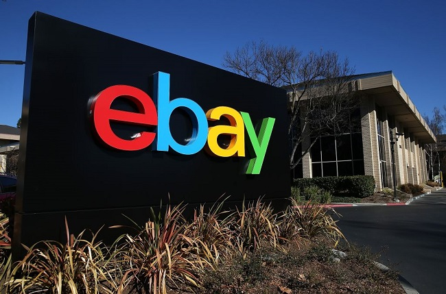 (Photo by Justin Sullivan/Getty Images) Kantor eBay, SAN JOSE