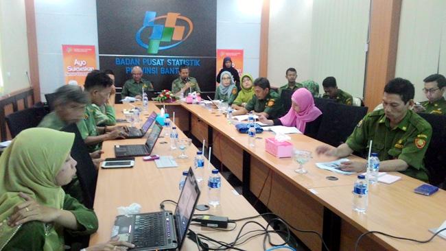 Rapat Koordinasi Badan Pusat Statistik (BPS) Provinsi Banten