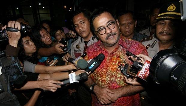 Net. Gubernur Banten, Rano Karno ditemui usai pemeriksaan di KPK