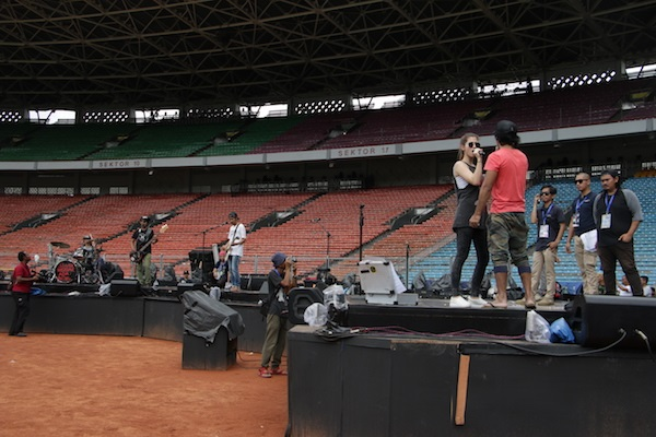 Net. Proses check sound di GBK