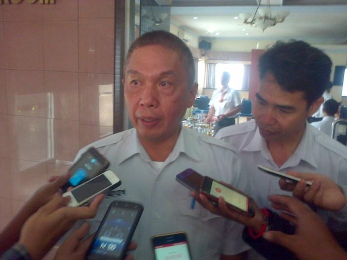 General Manager PT ASDP Ferry Cabang Utama Merak Tommy Kaunang