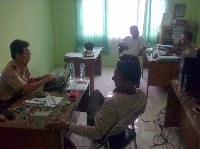 Pemeriksaan Pejabat PT ASDP dan PT MPG di Kantor Disnaker Cilegon
