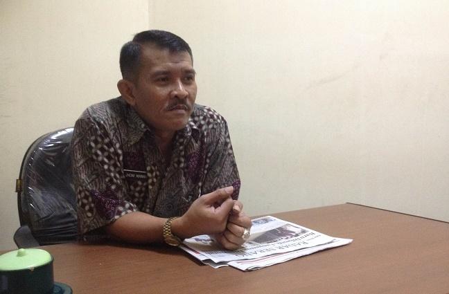 Kepala Bidang Transmigrasi Disnakertrans Kota Serang Jhoni Manahan Sianipar