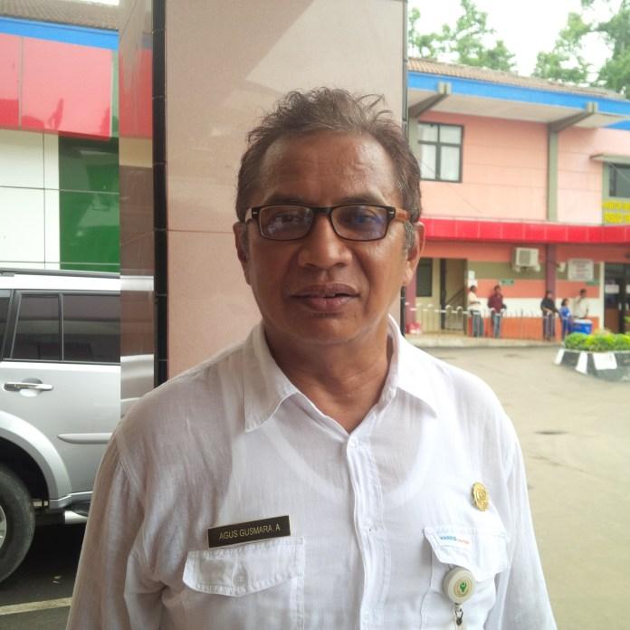 Direktur RSUD Dr Drajat Prawiranegara, Agus Gusmara