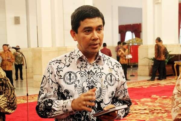 Menteri Pendayagunaan Aparatur Negara dan Reformasi Birokrasi (MenPAN-RB) Yuddy Chrisnandi