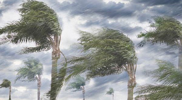 ilustrasi angin topan