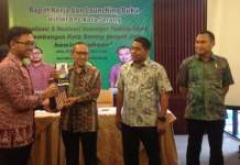 Wakil Walikota Serang Sulhi dalam Rapat Kerja HIPMI Kota Serang