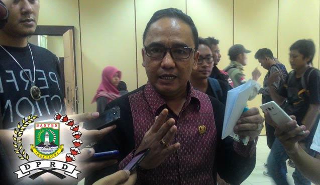 Ketua DPRD Provinsi Banten, Asep Rahmatullah.