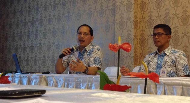 Kepala Divisi Regional XIII BPJS Kesehatan, Benjamin Saut PS.