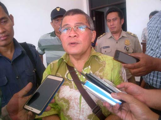 Kadisnaker Kota Cilegon, Erwin Harahap.