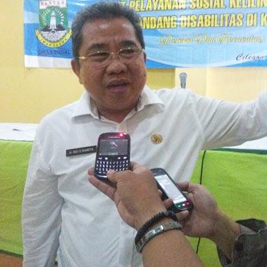 Kepala Dinas Sosial Provinsi Banten, Ino S Rawita.