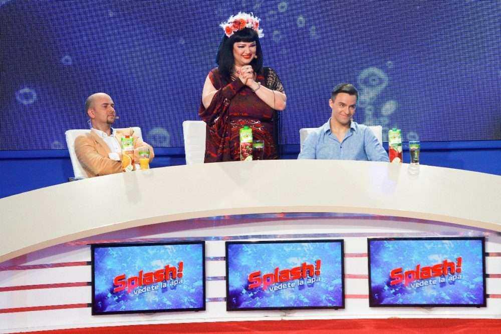 splash vedete la apa antena 1 2 Finala show ului Splash! Vedete la apa, lider de audienta pe toate segmentele de public!