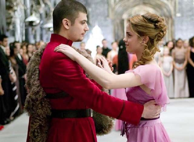 Emma Watson and Victor Krum