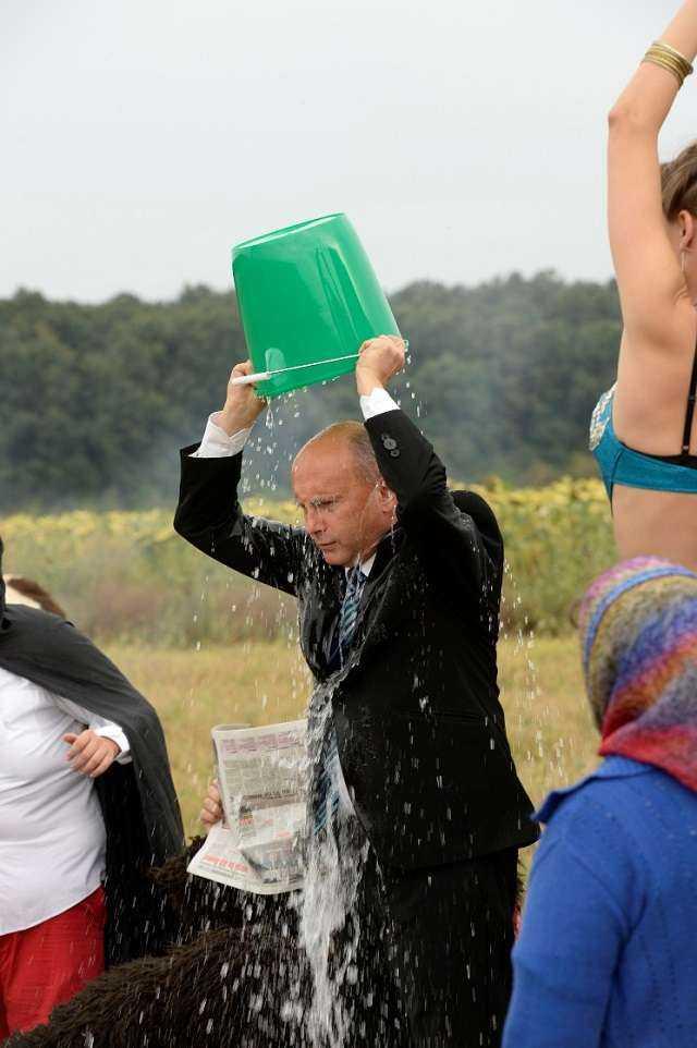 Ice Bucket Challenge prezidential